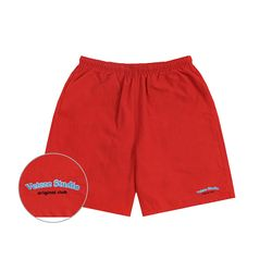 Studio Half Pants (red)