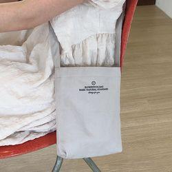 daily cross bag ( grey )