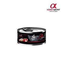 알파스피릿 캣 캔 (흰살생선&사과)-1개