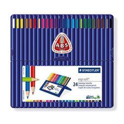 스테들러 색연필 에고소프트 24색 157SB24
