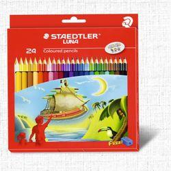 스테들러 색연필 루나 24색+연필깎이