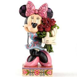 매직캐슬 디즈니 장미꽃다발 미니 피규어