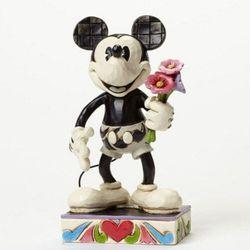 매직캐슬 디즈니 꽃다발 흑백미키 피규어 16cm