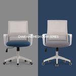 의자왕 사무실 학생 책상 의자/체어 801 WHITE