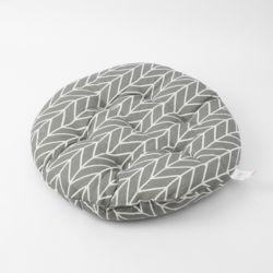 쿠지 화살표 원형방석(그레이)