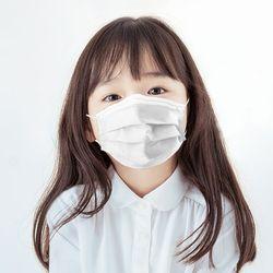 어린이 유아용 소형 3중 구조 MB필터 일회용 마스크 50매