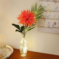 킹다알리아 야자 트로피칼 무드등 2color 오렌지 핑크