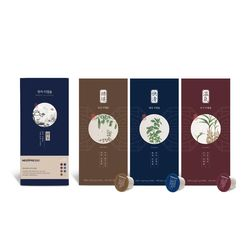 한차 티캡슐 3종 선물포장 B세트(당감+쾌청+온기)