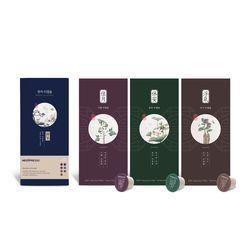 한차 티캡슐 3종 선물포장 A세트(가월+휴안+부기)