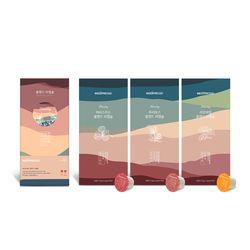 블렌드 티캡슐 3종 선물세트네스프레소 호환캡슐