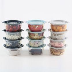 루멘 전자렌지용기 냉동밥 보관용기 650ml 8P SET