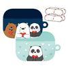 위 베어 베어스 에어팟 프로 하드 케이스 + 철가루 방지 스티커