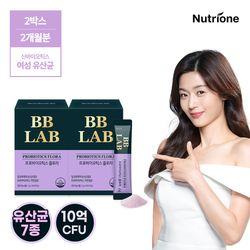 [무료배송] 전지현 비비랩 프로바이오틱스 플로라 2박스 여성유산균