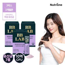 [무료배송] 전지현 비비랩 프로바이오틱스 플로라 3박스 여성유산균
