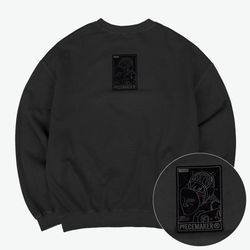 PIGMENT REVERSIBLE SWEAT SHIRTS (CHARCOAL)