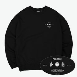 PM ICON SWEAT SHIRTS (BLACK)