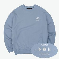 PM ICON SWEAT SHIRTS (SKY BLUE)
