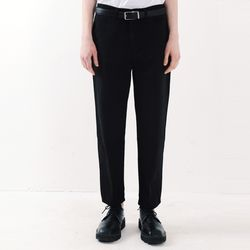 ORDINARY STRAIGHT CROP JEAN (BLACK)