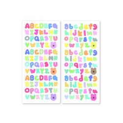 [한톨상점] 알파벳 씰스티커 2종