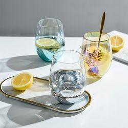 [1+1] 유니크 별빛 예쁜카페 특이한유리컵