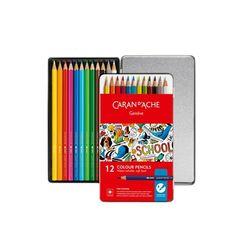 까렌다쉬 수채색연필 스쿨라인 12색 1290-312