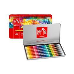 까렌다쉬 수성색연필 수프라 전문가용 40색 3888.340