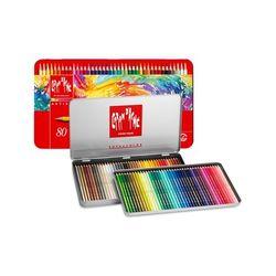 까렌다쉬 수성색연필 수프라 전문가용 80색 3888.380