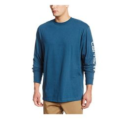 칼하트 티셔츠 긴팔 K231 스트림블루