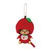 Apple Monchhichi Big Head SS Mascot Keychain