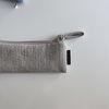 퀼팅 그레이 필통 2(Quilting gray pencil case 2)