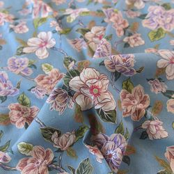 [fabric] 함박꽃나무 린넨 Blooming Tree Linen