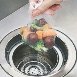 싱크대 배수구 음식물쓰레기 하수구 거름망 (100매)