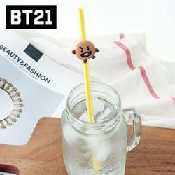 BT21 캐릭터 빨대 SHOOKY