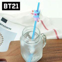 BT21 캐릭터 빨대 MANG