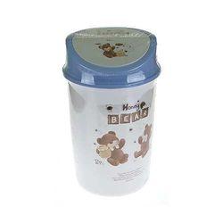 허니베어휴지통 2호 10L (색상랜덤)