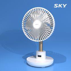 [예약구매 / 6.24일발송] 스카이 케어 윈드 400 무선 탁상용 선풍기 C타입 SKY-WD400