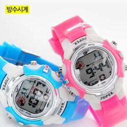 어린이 방수전자시계 학생 손목시계 AO-8808A(방수)