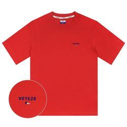 Basic Logo Half T-Shirts (red)