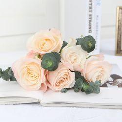 플플 하젤장미 미니 생화꽃다발