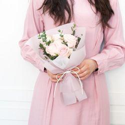 플플 빅토리아 장미 미니 생화꽃다발