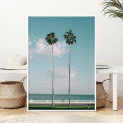 트윈팜 여름 그림 인테리어 액자 A3 포스터