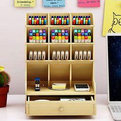 책상정리함 연필꽂이 수납합 데스크  DIY 미니수납장(일반형)