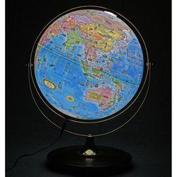 [맵소프트]30cm 데스크 원목 조명 지구본