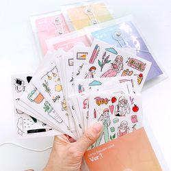 다꾸 인스 인쇄소스티커 스티커팩 5종