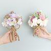 결혼 신부 들러리 부케 꽃다발 화병 시리즈 8종