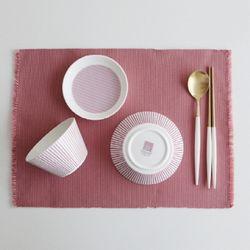 코지 핑크 1인 셋팅set 3p