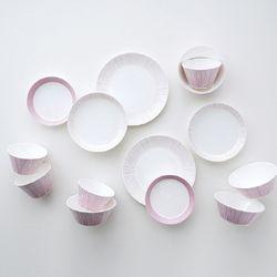 코지 핑크 4인 홈세트 14p