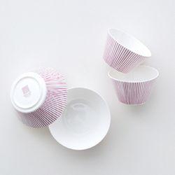 코지 핑크 공기대접 세트 4p