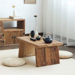 노르딕 수공예 거실 다도 원목 고재테이블