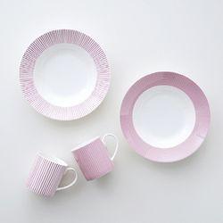 코지 핑크 파스타세트 4p